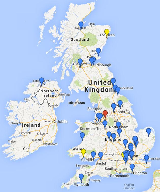 NPRONET Member Locations
